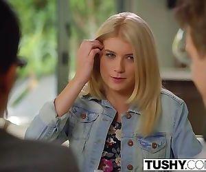 TUSHY Hot Teen Arya Fae Gets..