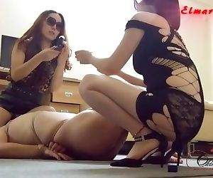 Chinese double femdom..