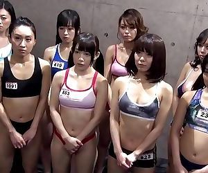 ROUGH NUDE ASIAN WRESTLING..