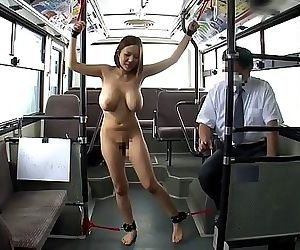 Japanese woman bound in the..