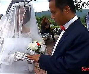 Asian bride cheats on..